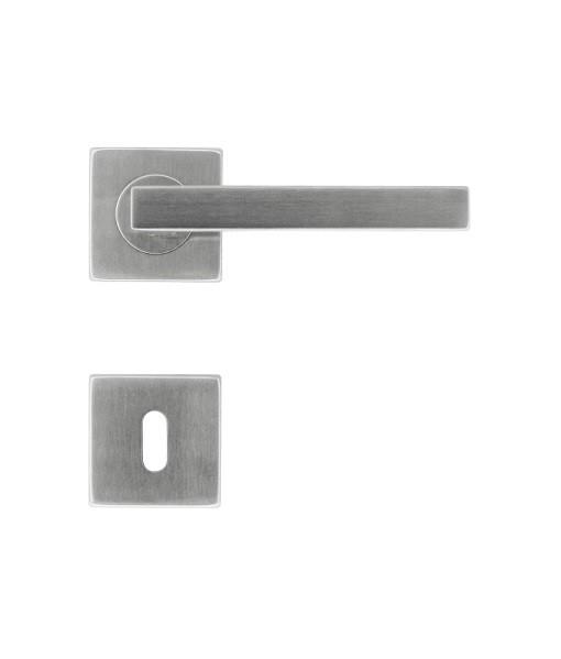 DEURKRUK KUBIC SHAPE 16MM INOX PLUS R+E-Cover