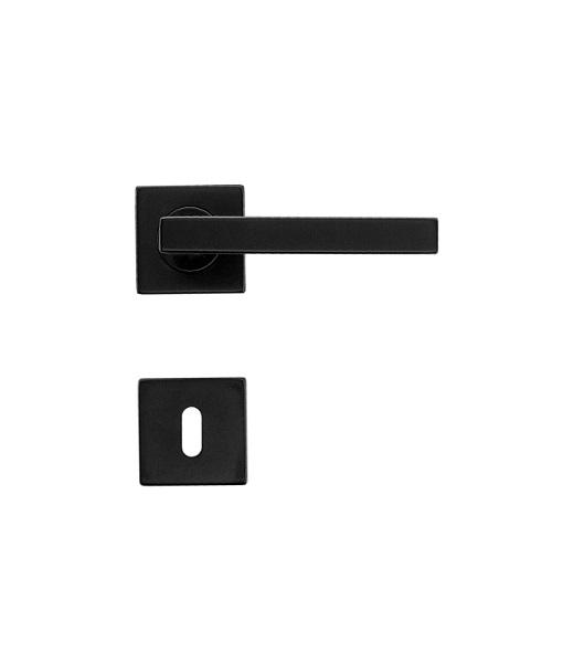 DEURKRUK KUBIC SHAPE 16MM ZWART R+E-Cover